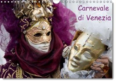 Kalender Karneval in Venedig