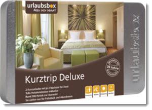 Urlaubsbox Kurzurlaub Delux Angebot